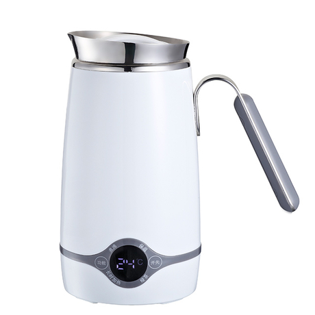 Electric Kettle 0.5L Mini Travel Kettle with Double Wall Cool Touch Water Kettle for Noodles, Dessert, Tea & Coffee